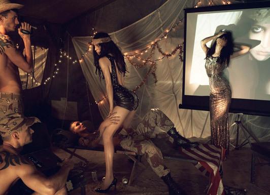 «Make Love NotWar» by Steven Meisel Vogue Italy. Изображение № 17.