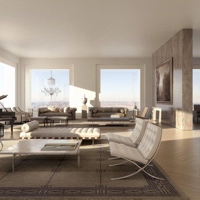 Фото дня: вид с самого высокого жилого здания Нью-Йорка. Изображение № 6.