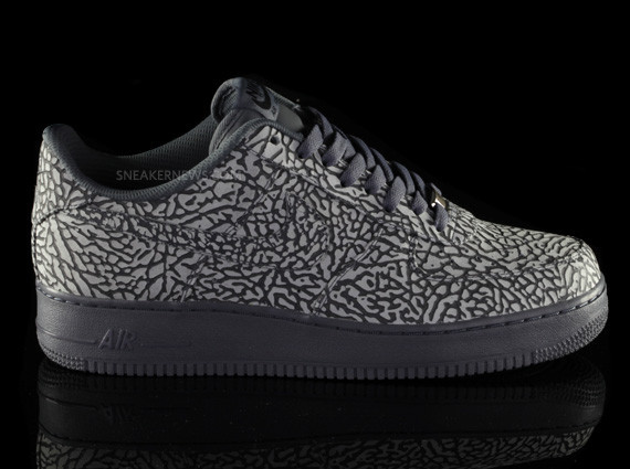 Nike Air Force 1 iD Elephant Print – Sneaker News Editions. Изображение № 8.