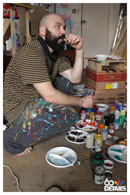 3D sculpture artist: Edik Katykhin (process). Изображение № 8.