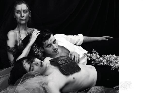 Стоп-кадр: Новые съемки Love, Russh, Vogue и V. Изображение № 23.