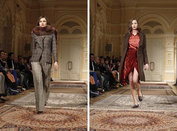 Изображение 8. A'la Russe FW 2011: пальто в пол и широкие брюки.. Изображение № 8.