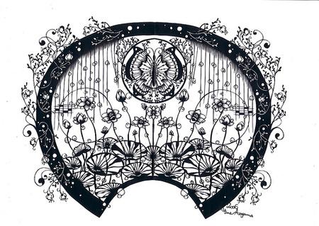 Вырезанные избумаги картины – Hina Aoyama. Изображение № 24.