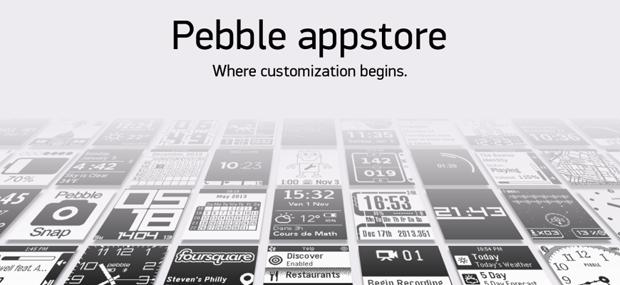 Открыт эппстор «умных» часов Pebble. Изображение № 1.