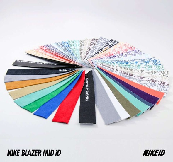 Nike X Liberty Summer Collection/  Blazer Mid iD.. Изображение № 29.