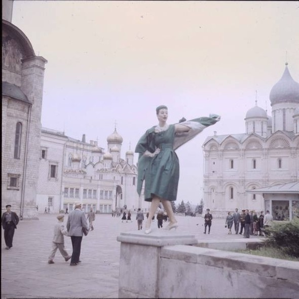 1959 г. Christian Dior в СССР. Изображение № 17.