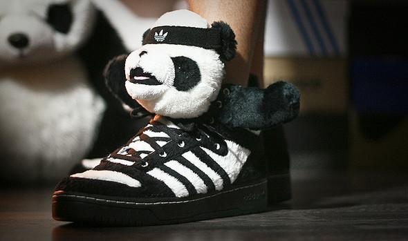 Панда кроссовки adidas Originals. Изображение № 4.