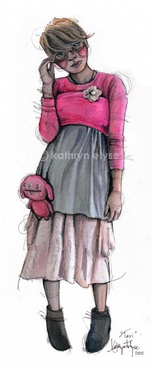 Kathryn Elyse. Fashion Illustrations. Изображение № 20.