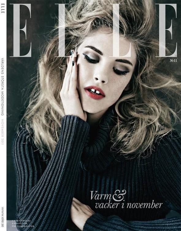 Обложки: Elle, Jalouse, Wonderland и W. Изображение № 2.