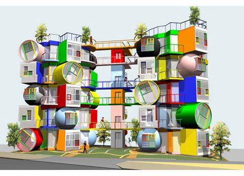 Изображение 58. 10 необычных жилых кварталов.. Изображение № 50.