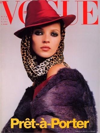 Кейт Мосс на обложках vogue. Изображение № 30.