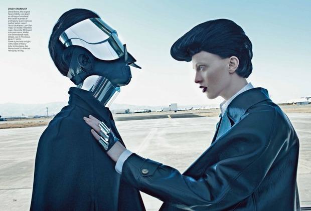 Новые съемки Dazed & Confused, Vogue, i-D и W Magazine. Изображение № 46.