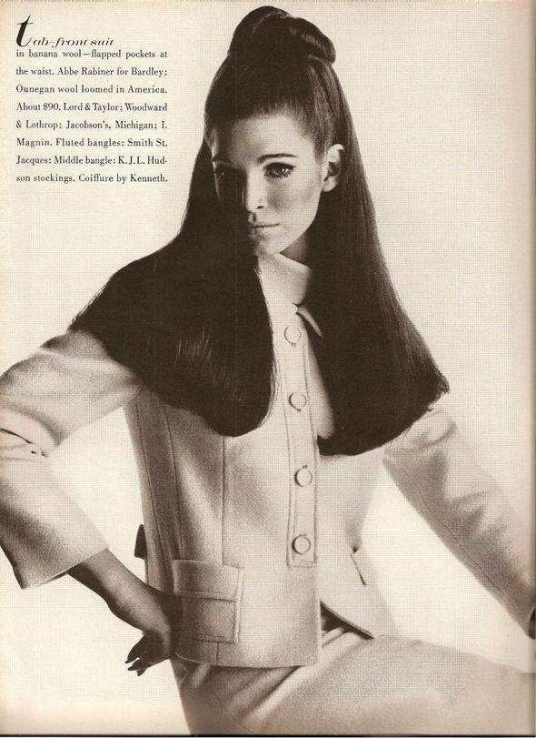 «Выгляди великолепно» каквVogue 1967 года. Изображение № 15.