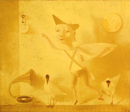 Наивная живопись Светланы Румак. Изображение № 23.