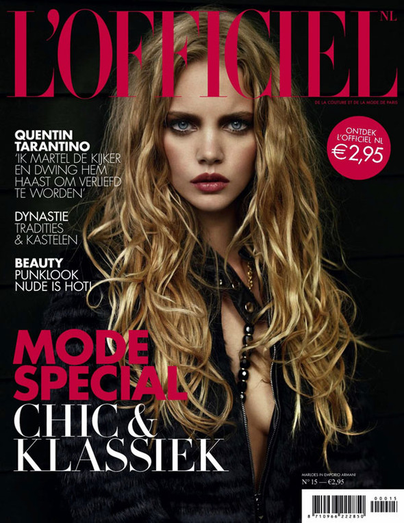 Marloes Horst for Dutch LOfficiel by Marcin Tyszka. Изображение № 1.