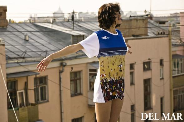 DelMar – футболки изсердца Москвы сморской душой. Изображение № 1.