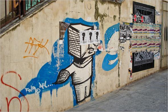 Стрит-арт и граффити Братиславы, Словакия. Изображение № 26.
