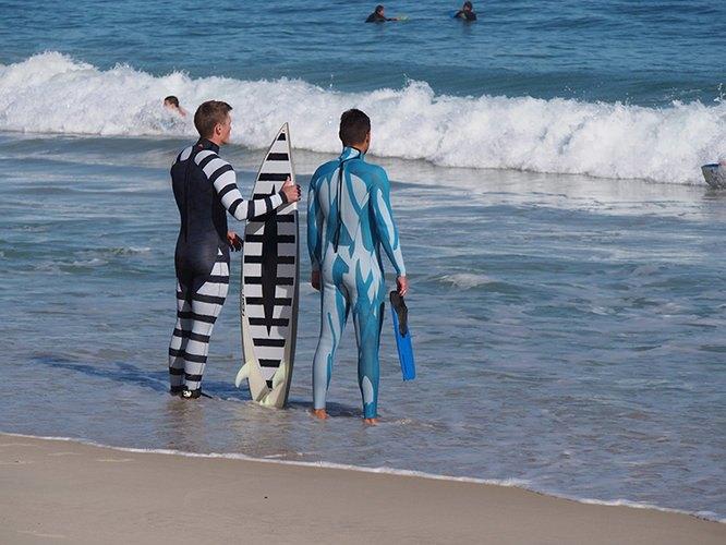 Дизайнеры разработали гидрокостюм, отпугивающий акул . Изображение № 2.