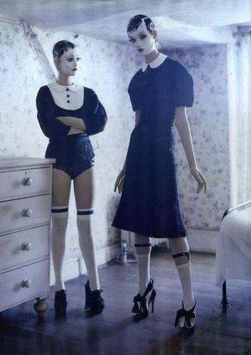 Съёмка: Тим Уокер для итальянского Vogue. Изображение № 6.