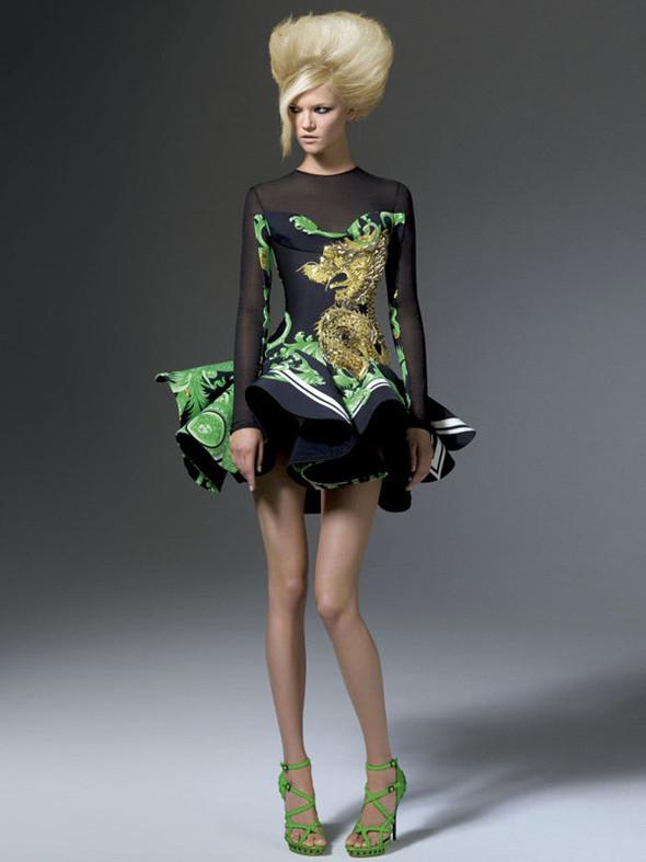 Лукбук: Atelier Versace FW 2011. Изображение № 14.