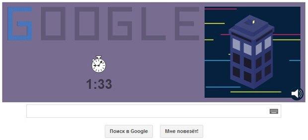 Google запустил онлайн-игру про Доктора Кто. Изображение № 3.