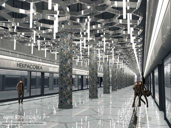 Опубликованы видеотуры по будущим станциям московского метро. Изображение № 11.
