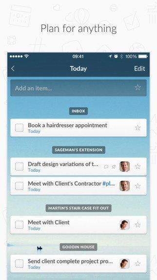 Редизайн дня: новый Wunderlist для iPhone и Android. Изображение № 10.