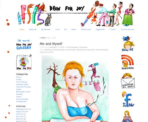 Ручная работа. Дизайн сайтов с рисованными элементами. Изображение № 24.