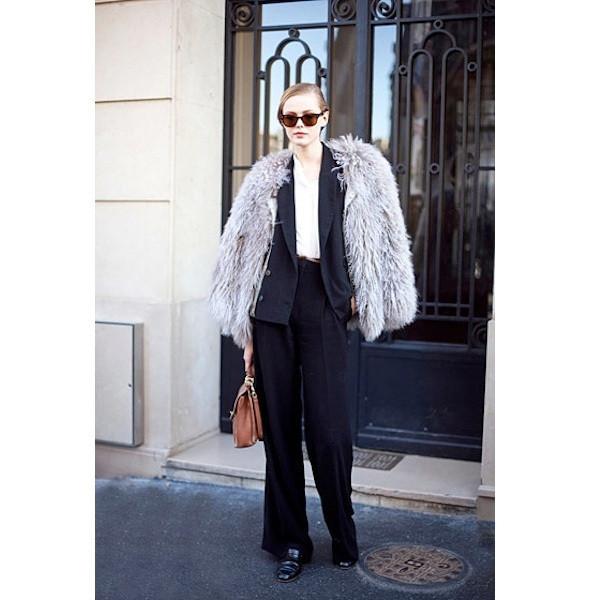 Изображение 21. На полях: 10 тенденций уличного стиля с прошедших недель моды.. Изображение № 21.