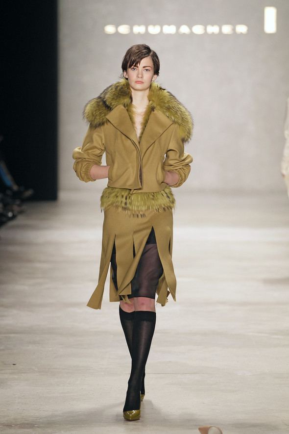 Berlin Fashion Week A/W 2012: Schumacher. Изображение № 51.