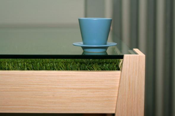 Стол с травкой или Lunch outdoors. Изображение № 3.
