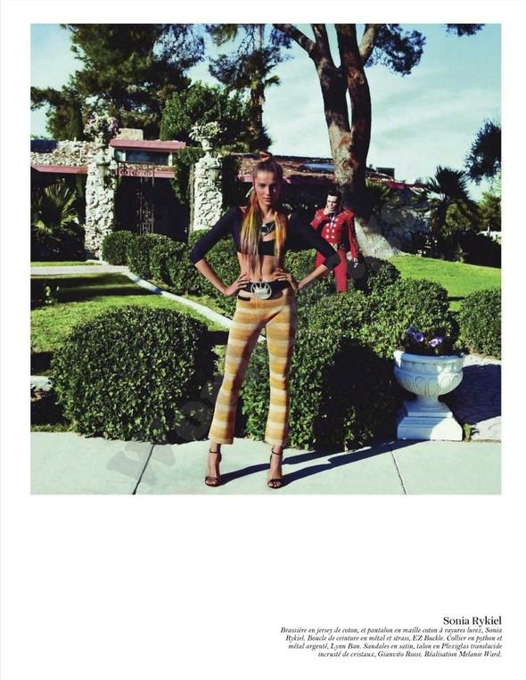 Съёмка: Дарья Вербова для французского Vogue. Изображение № 14.