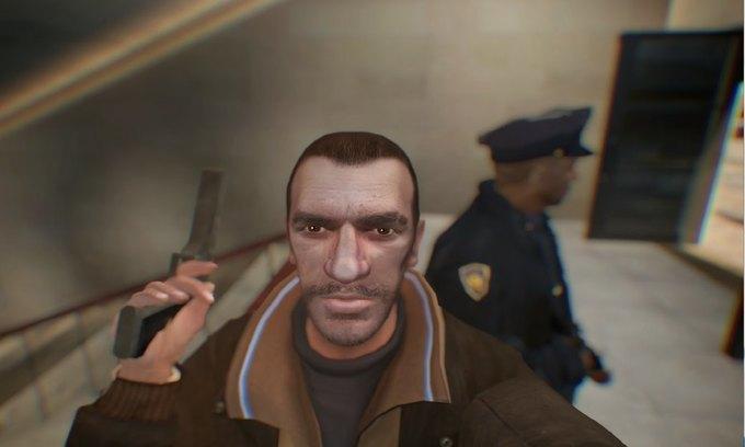 Мод позволяет делать селфи в GTA IV . Изображение № 8.