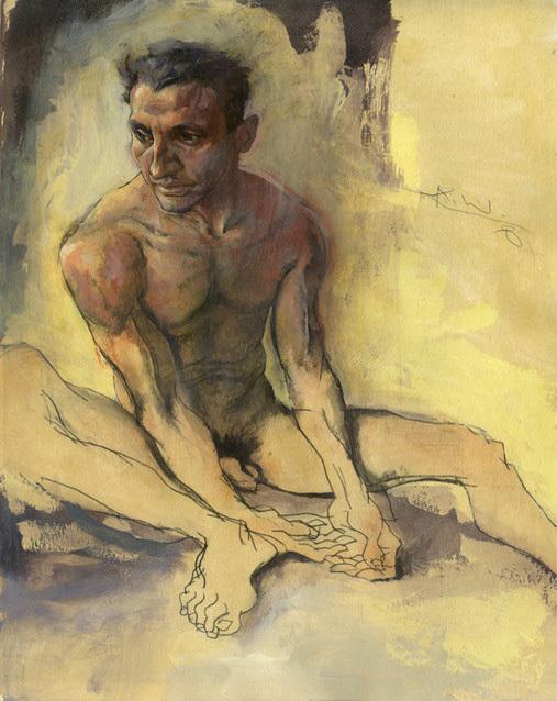 Картины маслом отКента Уильямса (Kent Williams). Изображение № 17.
