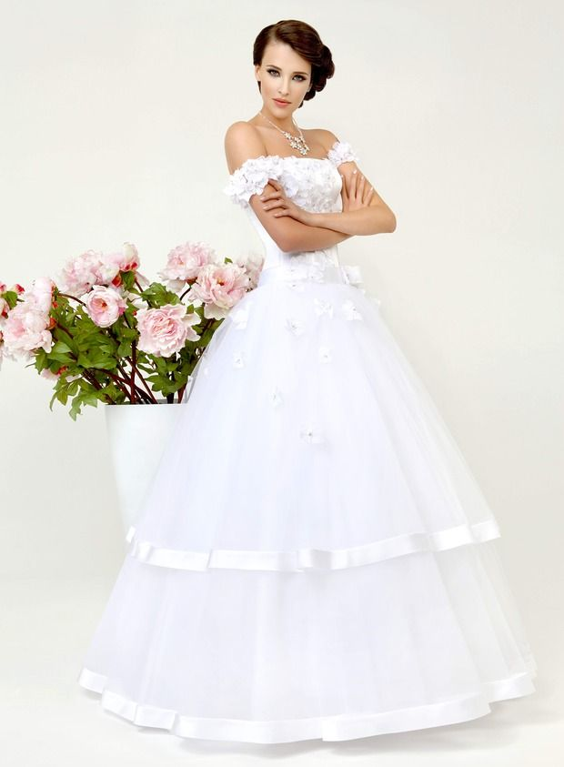 Свадебная Коллекция  от дизайнера Татьяна Каплун-Kookla 2013 ( Simple White ). Изображение №20.