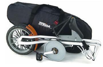 Складной велосипед STRIDA 5. 0. Изображение № 5.
