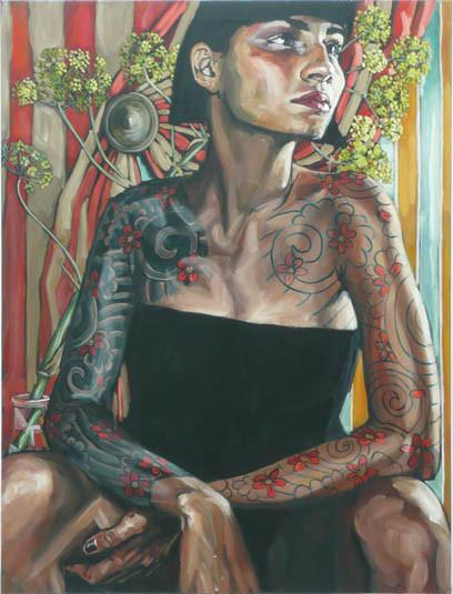 Belinda Eaton. Живые портреты. Изображение № 15.