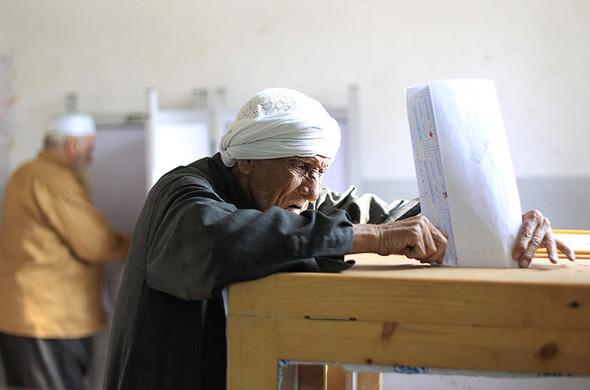 100 лет выборов в документальных фотографиях. Изображение № 219.