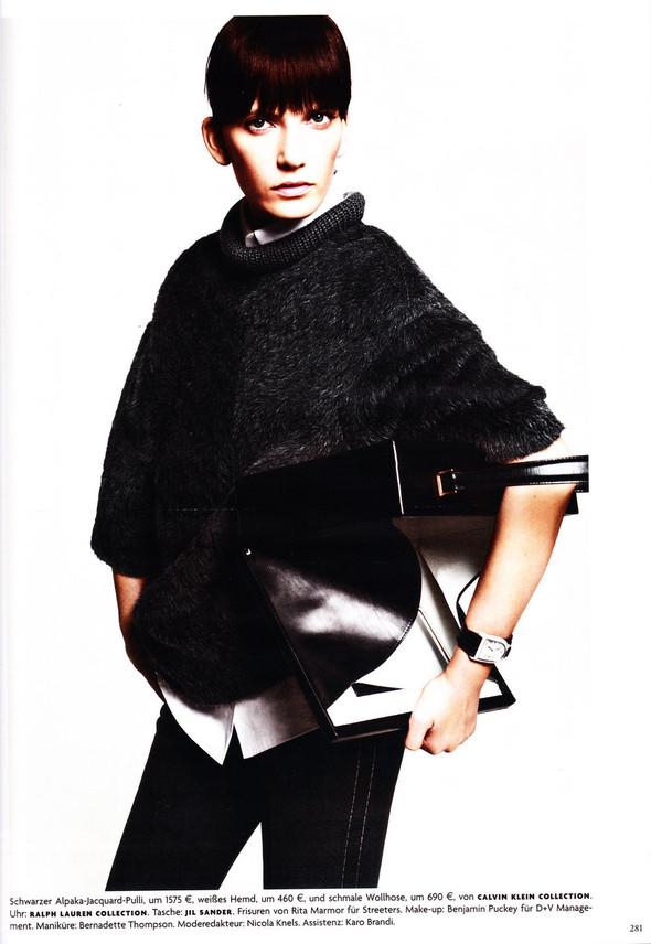 Съёмка: Хана Бен Абдесслем и Валерия Келава для Vogue. Изображение № 20.