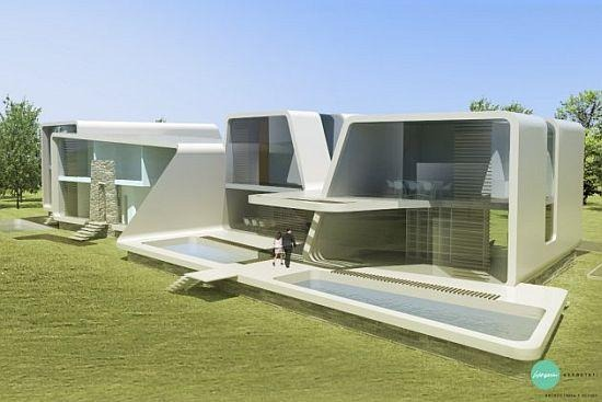 Дома будущего - дизайн, гринпис или архитектура?. Изображение № 28.