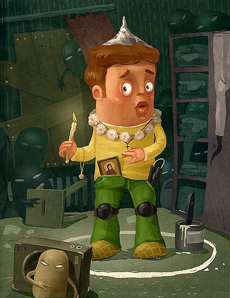 Красивые иллюстрации Андрея Гордеева. Изображение № 22.