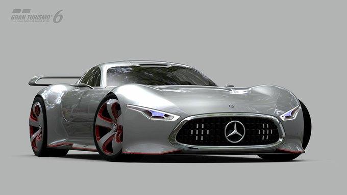 Mercedes-Benz разработала концепт спорткара для новой части Gran Turismo. Изображение № 23.