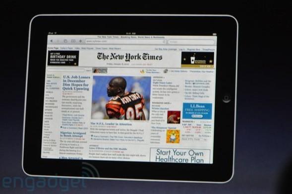 Презентация нового продукта iPad от Apple. Изображение № 29.