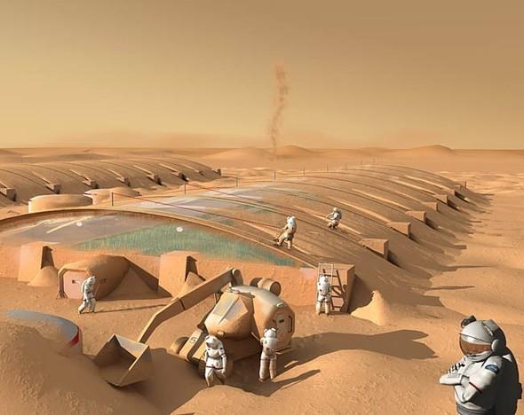 Есть ли жизнь на Марсе? Будет!. Изображение № 5.
