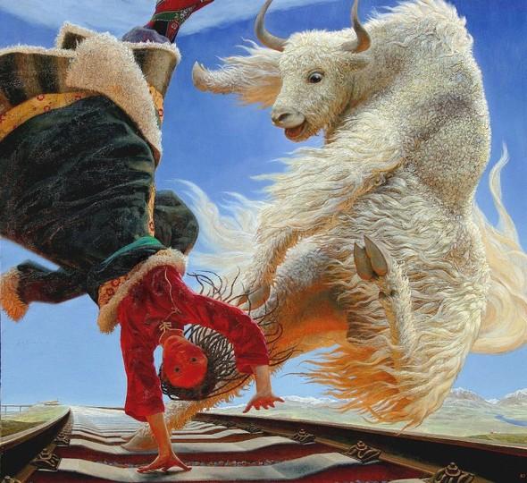 Wang Yi Guang. Feitain, или летающий пух. Изображение № 1.
