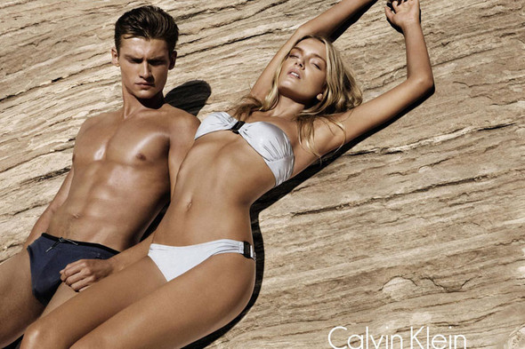 Кампания: Calvin Klein White Label SS 2012. Изображение № 5.