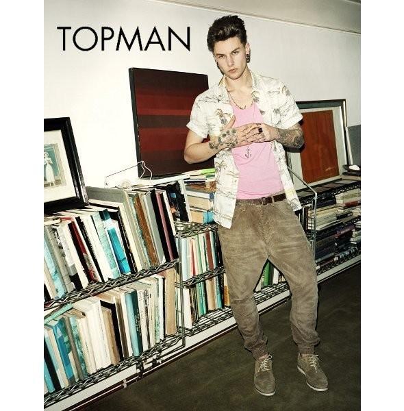 Изображение 20. Рекламные кампании: Topman, River Island и другие.. Изображение № 3.