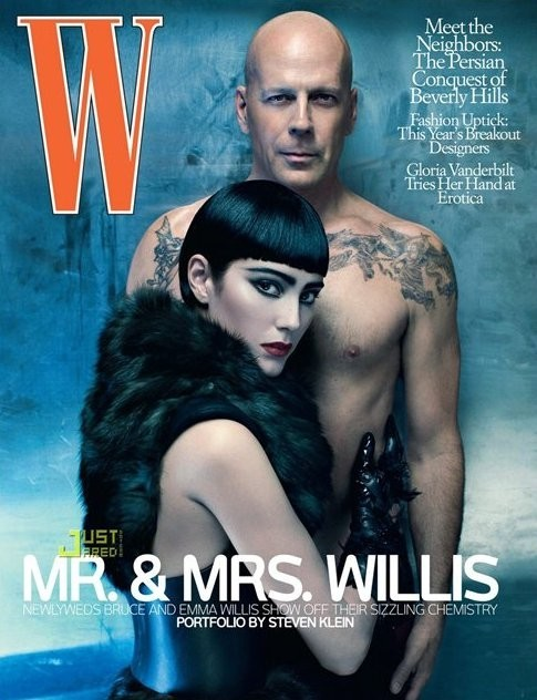 Mr. & Mrs. Willis by Steven Klein. Изображение № 12.