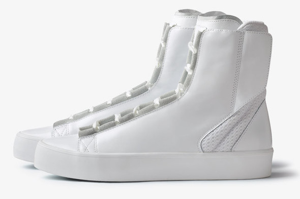 ADIDAS SLVR HIGH TOP LACE. Изображение № 6.