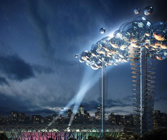 «Электронное облако» над Лондоном. Изображение № 1.